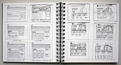 Wireframe Sketch - HostHead