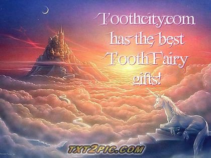 Tooth fairy fantasy gifts at toothcity.com