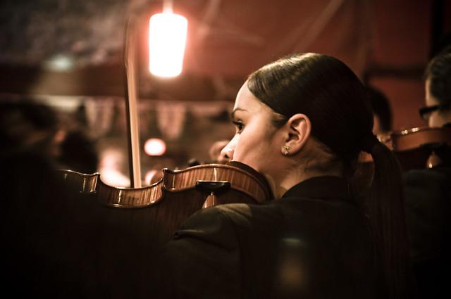 Mariachi Violinist in Mission