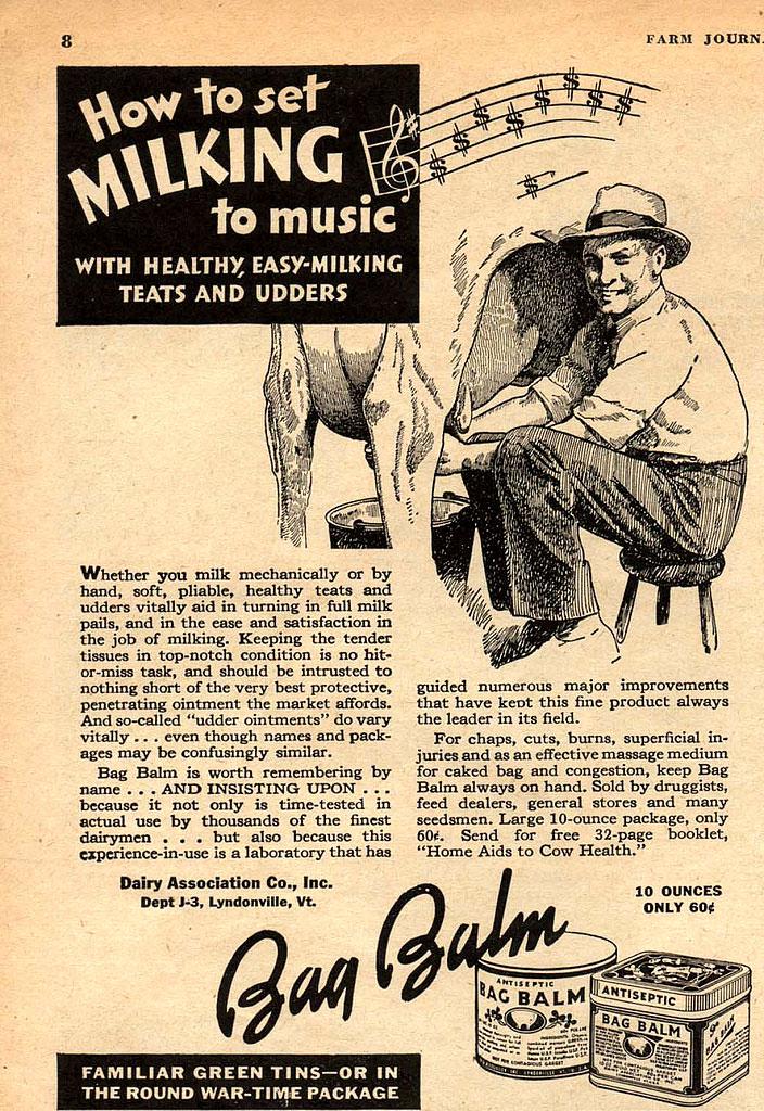 ... music milking!