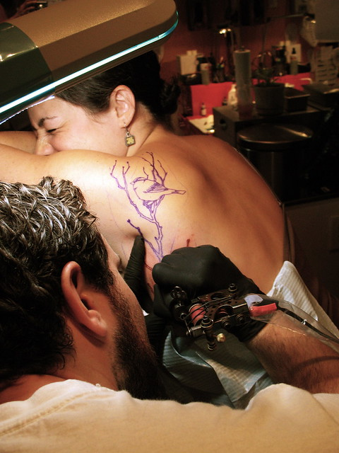 getting tattooed by Kurt Brown take 2 | Flickr - Photo Sharing!