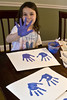 hand print project