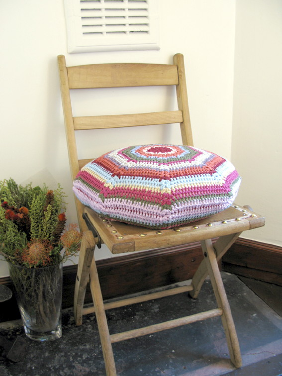Isobel crochet cushion cover | Emma Lamb