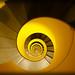 Escalier jaune de haut en bas by Ni¢k'7