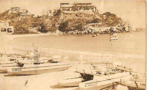 Vista de la playa Caleta
