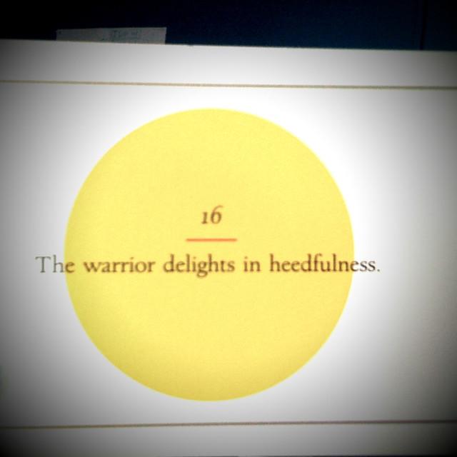 Header of heedfulness