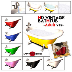 VINTAGE BATHTUB Adult-A(for web