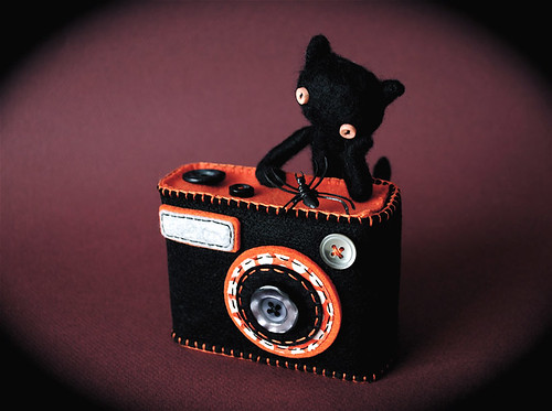 "Camera Camera Case ""Degicame"" Halloween color!"