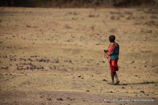 Masai Kid - NGorongoro Crater - Tanzania
