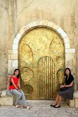 Gustav Klimt's Door