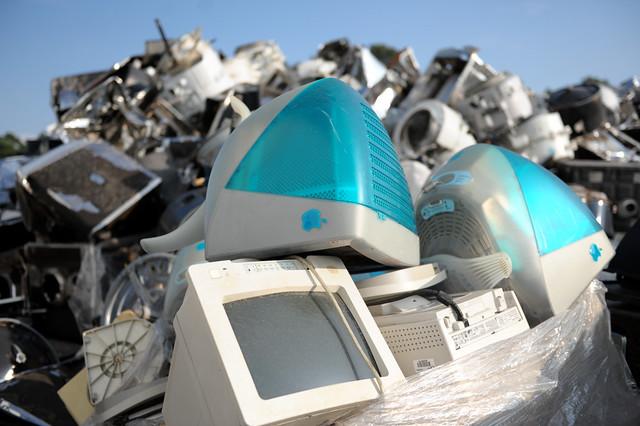 Reciclagem de material eletrónico (S.Pedro do Sul)