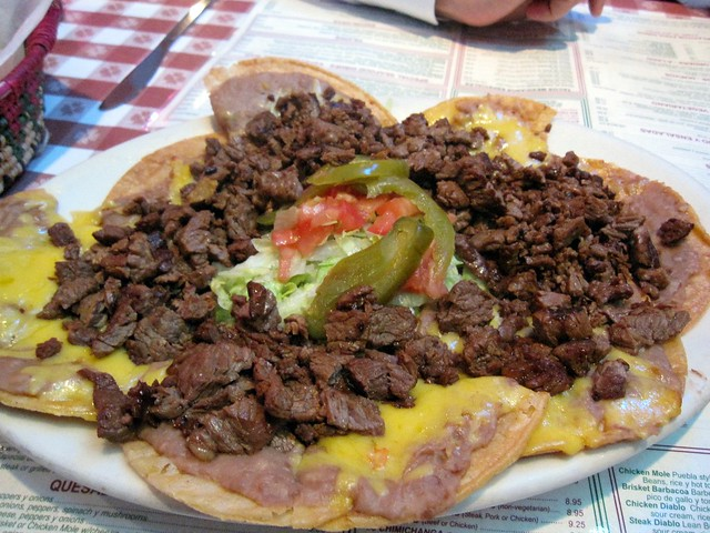 ... - le plate of beef fajita nachos (aka… | Flickr - Photo Sharing