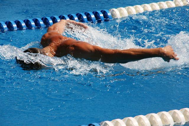 Swimming in Varna
