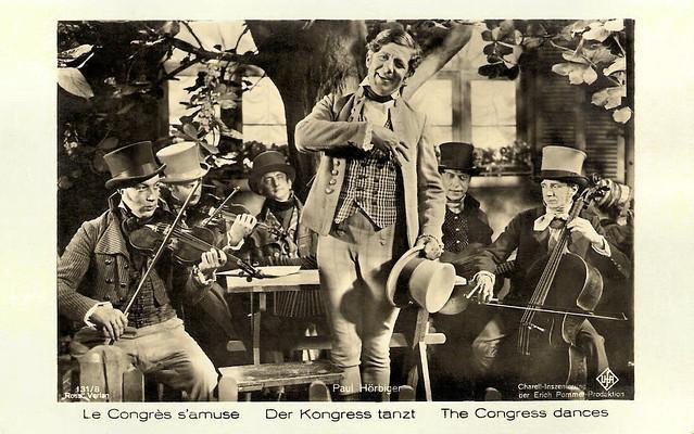 Paul Hörbiger in Der Kongress tanzt