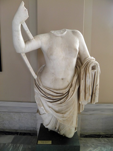 Statue of Aphrodite, Sculpture of Roman Period, Istanbul Archaeology Museum