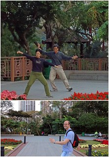 Tai Chi in the Botanical Gardens