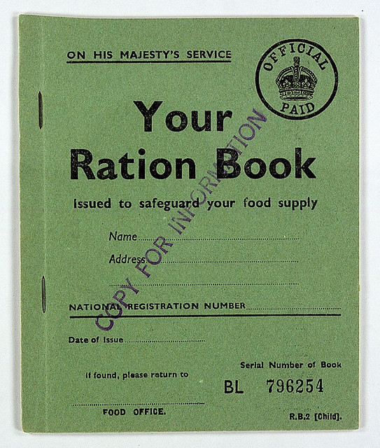 Your Ration Book; rationing