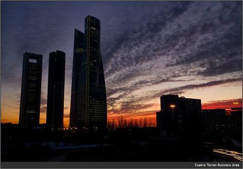 Le quattro torri di Madrid