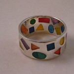 epoxy geometric ring