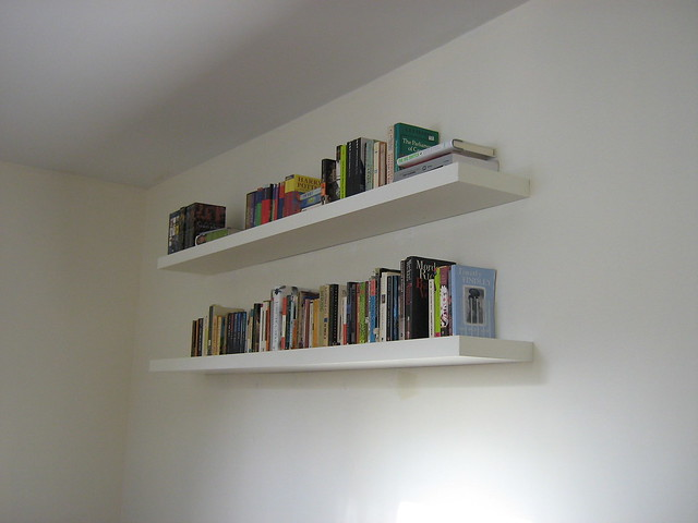 floating shelves in living room flickr photo sharing