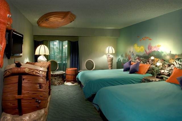 Theme room under the sea flickr photo sharing for Rooms under the garden