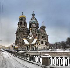 Saint-Pétersbourg - Eglise du Saint-Sauveur-sur-le-Sang-Versé - 15-02-2009 - 9h32