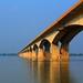 Small photo of Gandhi Setu Bridge in Patna, India.