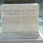 Monument to Henry Hardin Cherry