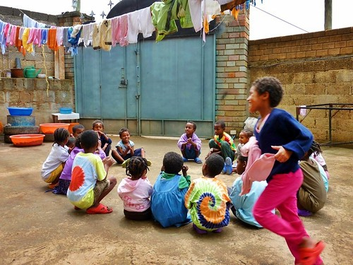 Ethiopia's version of Duck Duck Goose
