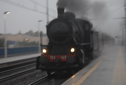 passaggio sotto la pioggia