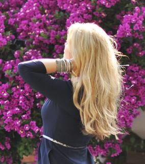 blonde hair + blond