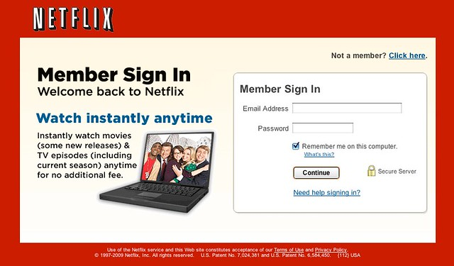Netflix: Log In - Free Trial | Flickr - Photo Sharing!