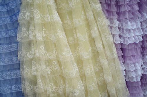 Prom Dress Ruffles