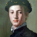 Bronzino, Portrait of a Young Man detail of head