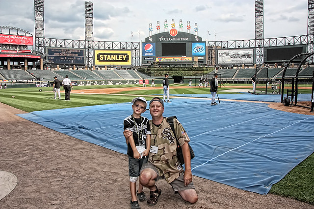 Father/Son White Sox....