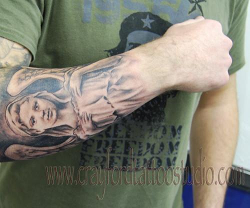 Angel 38 Tattoo