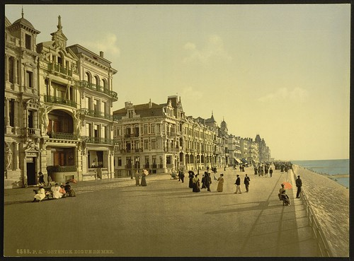 [The embankment, Ostend, Belgium] (LOC)