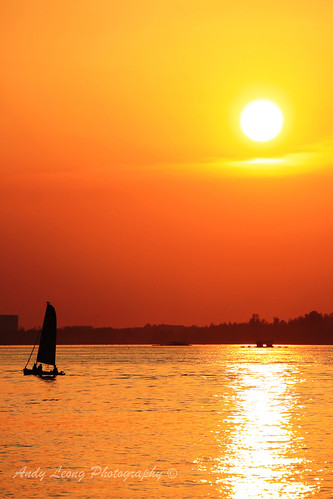 sunset evening singapore afternoon dusk 日落 黄昏 changiboardwalk 夕阳 新加坡 傍晚 下午 樟宜 樟宜尾沿岸木板路