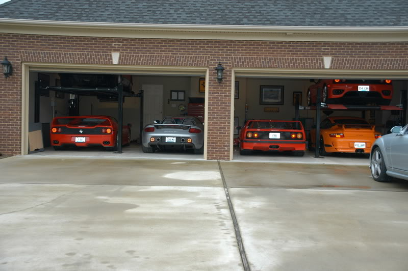 Ultimate garages 6speedonline porsche forum and luxury for Costruendo un garage per 2 auto