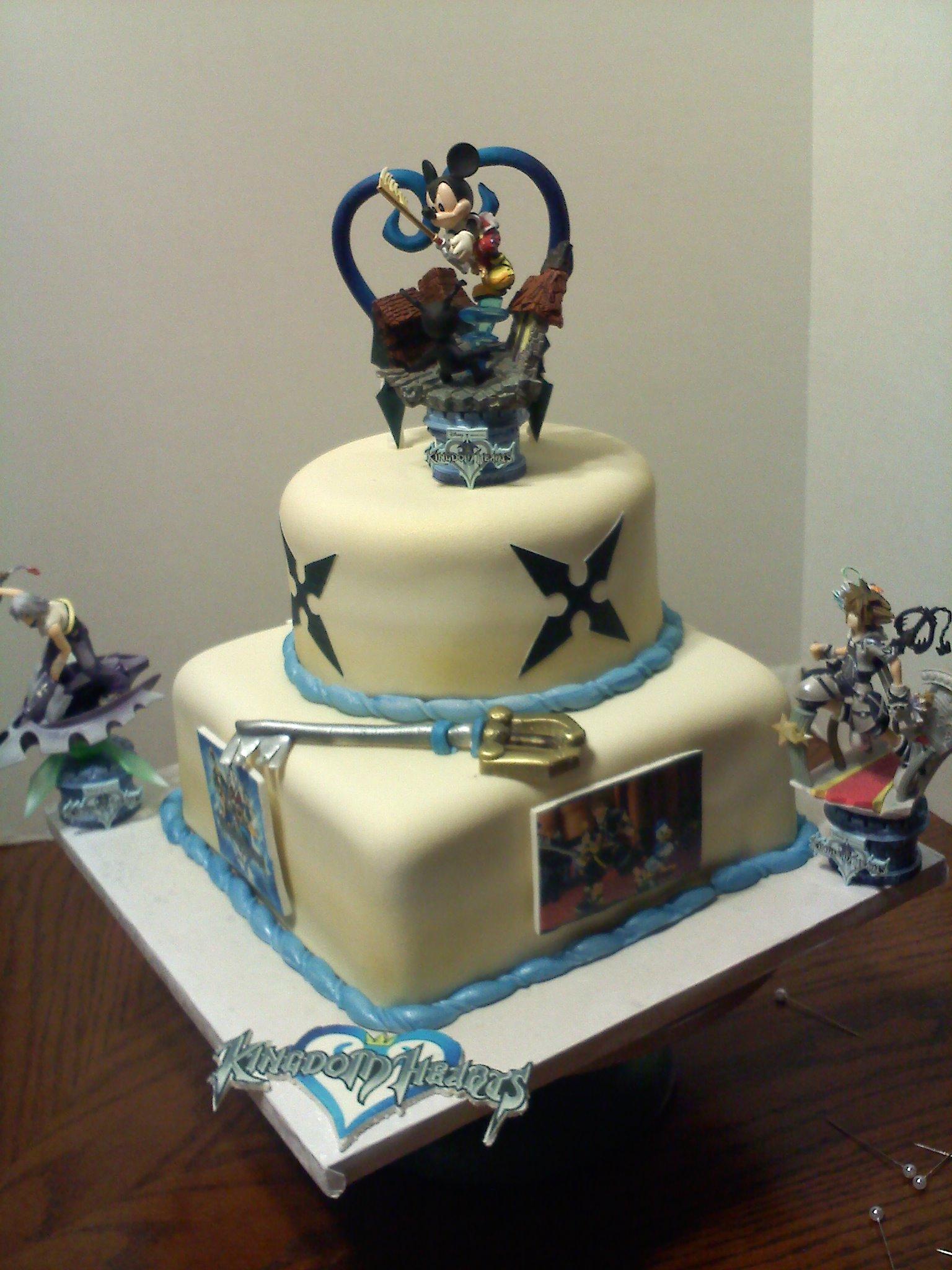 Kingdom Hearts Birthday Cake Toppers