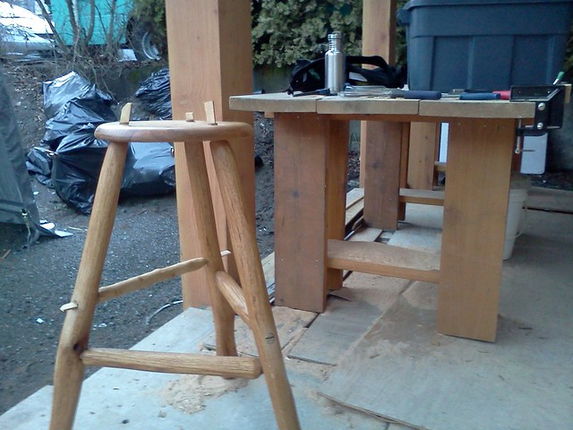 stool in progress