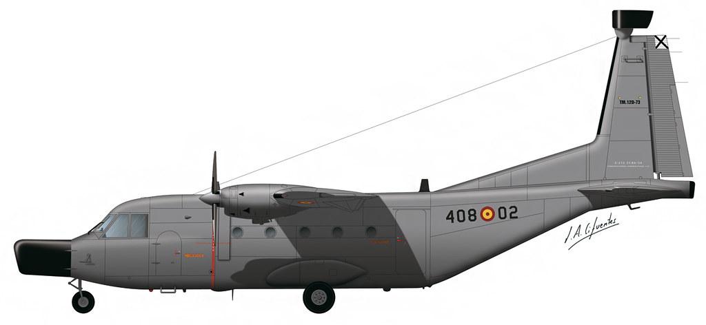 CASA C-212 408