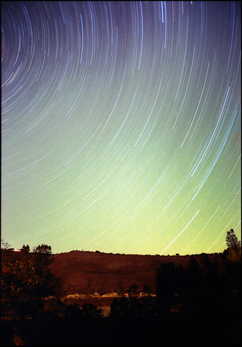 Star Trails over Lake Nacimiento, California | by - pfulton -