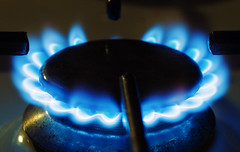 Natural gas flame. Photo: Flickr/Anders Adermark