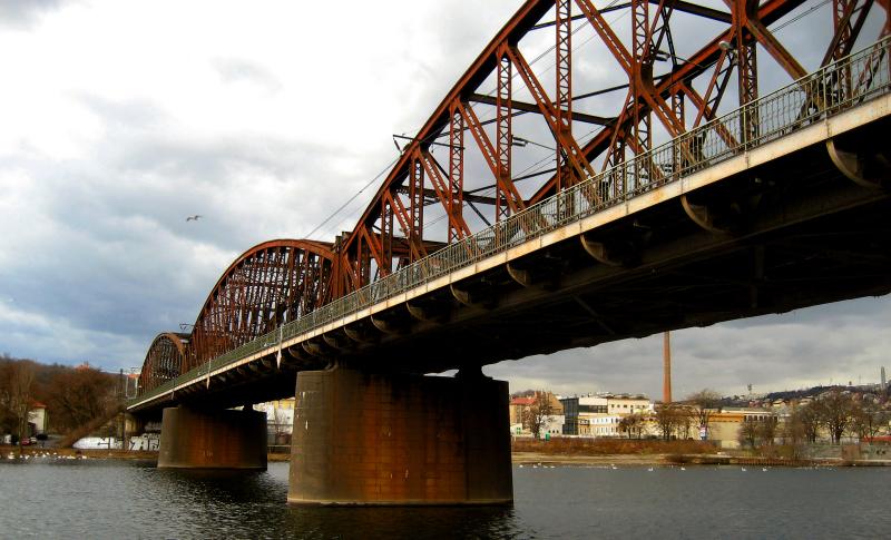 Vyšehrad Railway Bridge