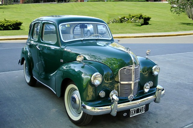 Austin a40 devon 1948 flickr photo sharing for 1948 austin devon 4 door