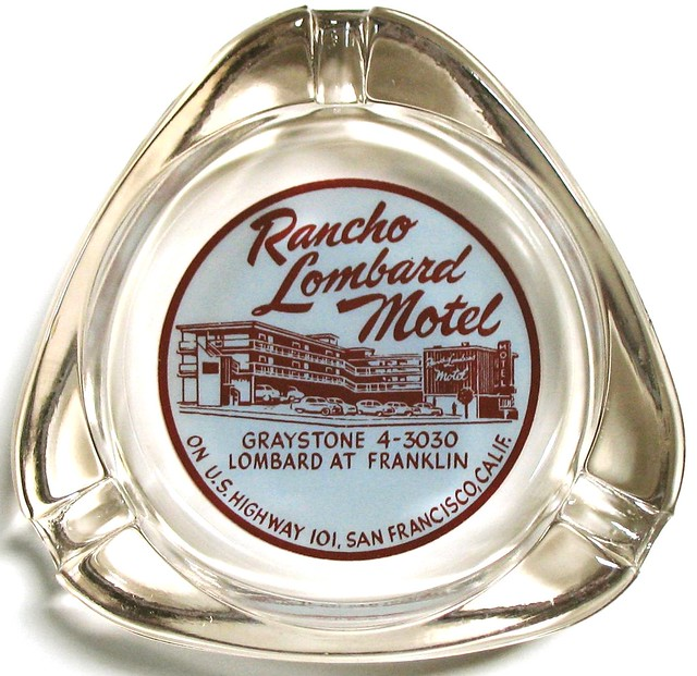 Rancho Lombard Motel - San Francisco, California U.S.A. - date unknown