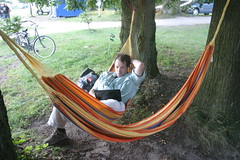 leisure, hammock,