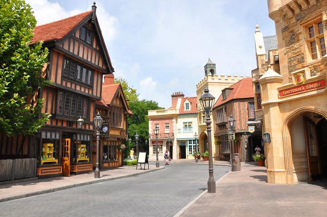 Quaint English Village? | No just Epcot in Florida ... Quaint English Village