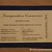2009 Inauguration Ticket - Washington DC, USA
